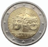 2 евро 2016 Тит Макций Плавт
