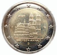 Германия 2 Евро 2021 Саксония Анхальт