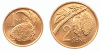 Самоа Набор Монет 1974 года 2 монеты