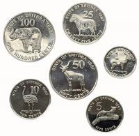 Эритрея Набор Монет 1987 года 6 штук