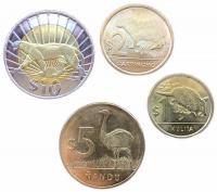 Уругвай Набор Монет 2012-2015 года 4 штуки
