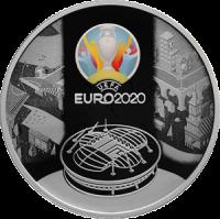 3 рубля 2021 Чемпионат Европы по Футболу Евро 2020