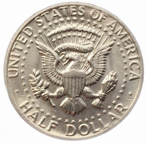 США 50 центов 1979 года Кеннеди
