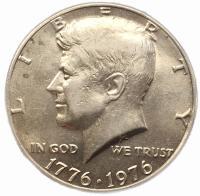 США 50 центов 1976 года Кеннеди