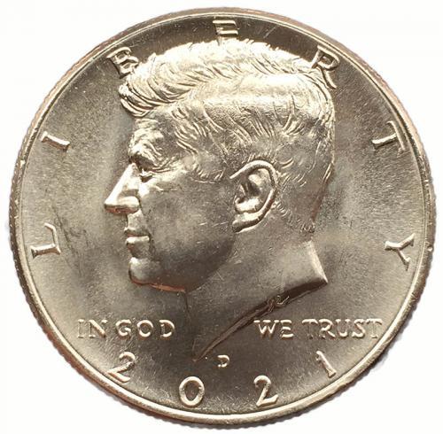 США 50 центов 2021 года Кеннеди
