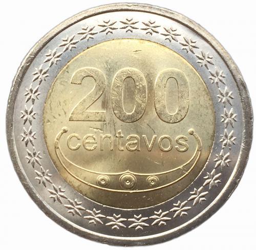 Восточный Тимор 200 сентаво 2017 года