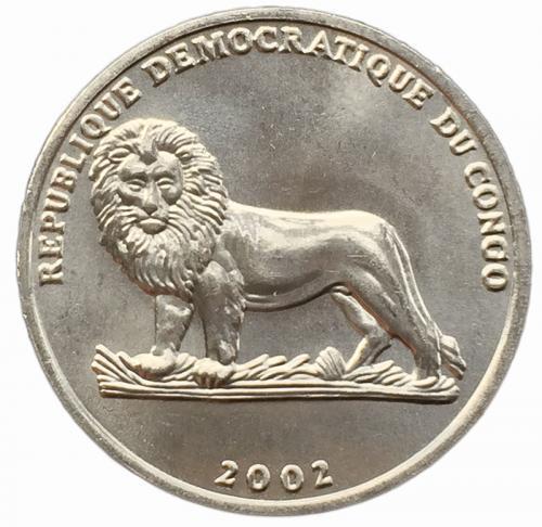 Конго 25 сантимов 2002 года Коза