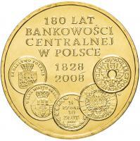 Польша 2 злотых 2009 180 лет банковской системе