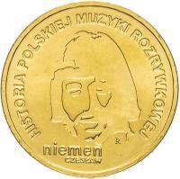 Польша 2 злотых 2009 Чеслав Немен