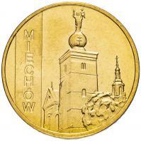 Польша 2 злотых 2010 Мехув