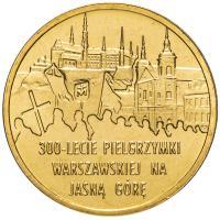 Польша 2 злотых 2011 Паломническая Гора