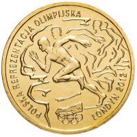 Польша 2 злотых 2012 Олимпиада в Лондоне