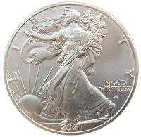 США 1 доллар 2021 Новый Тип Орла