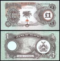 Биафра 1 фунт 1968 -1969 года
