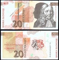 Словения 20 толаров 1992 года