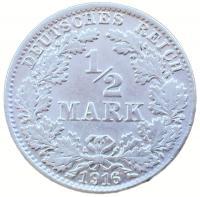 1/2 Марки 1916 года