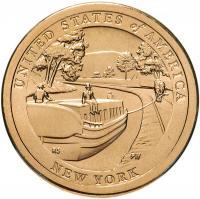 США 1 Доллар 2021 Канал Эри Нью Йорк