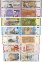 Сирия Набор из 7 банкнот 2009-2021 год