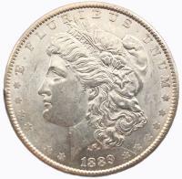 США 1 доллар 1889 года Морган