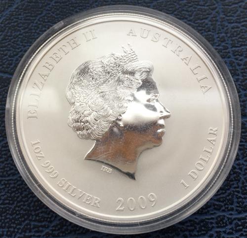 1 Доллар 2009 Год Быка