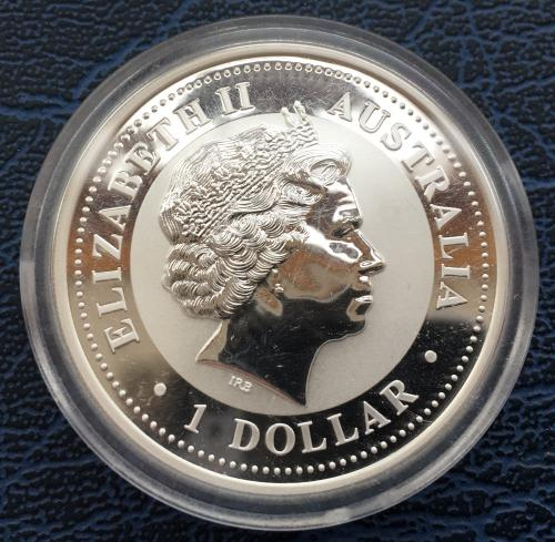 1 Доллар 2004 Год Обезьяны