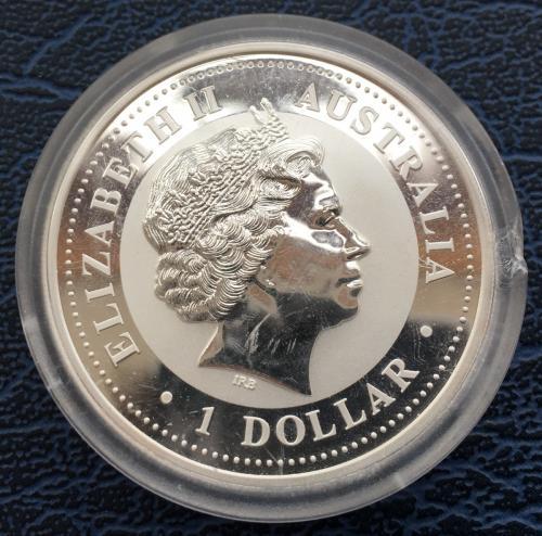 1 Доллар 2005 Год Петуха