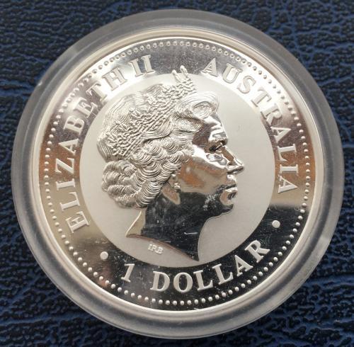 1 Доллар 2007 Год Свиньи