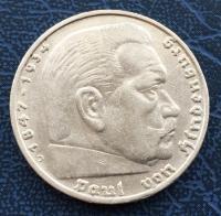 5 Рейхсмарок 1935 года