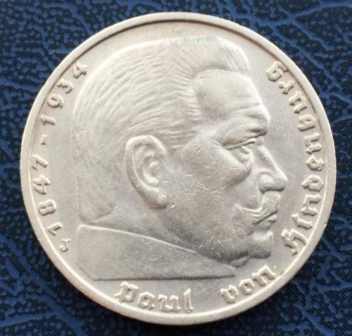5 Рейхсмарок 1936 года