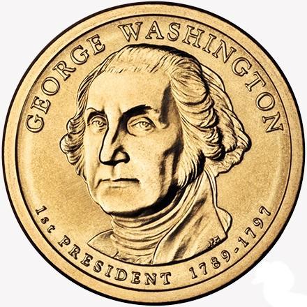 1 доллар Вашингтон