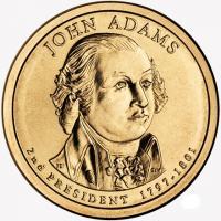 1 доллар джон адамс