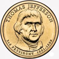 1 доллар джефферсон