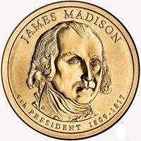 доллар мэдисон