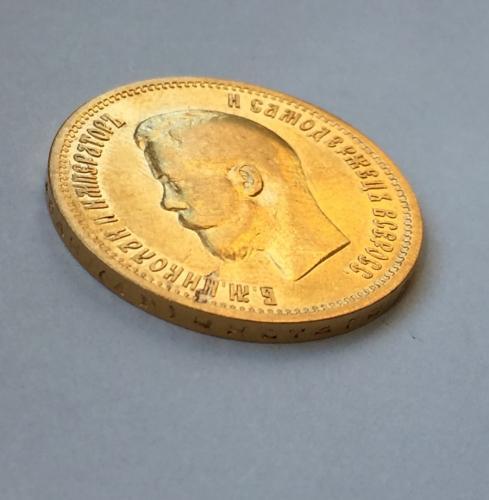золотой червонец 1898