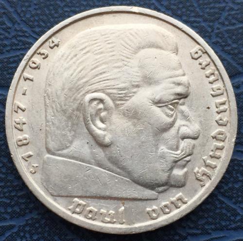5 марок 1939 германия